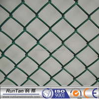 basketball fence netting/plastic diamond chain link fence