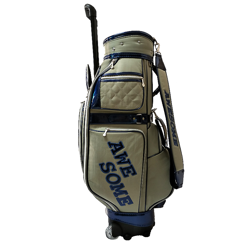 OEM Promotional Nylon Golf Bag With Wheels