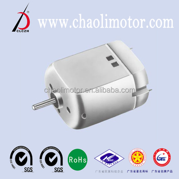 certification of SGS and ROSH CL-FK260SA electronics dc motor for electric shaver and airplane models