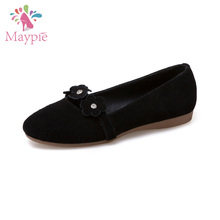 Italian Alibaba Latest Design Lady Small Size Women Shoes Bulk Foldable Kids Loafer Ballet Flat