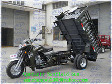 Guangzhou factory direct sell big cargo box double wheel motorcycle