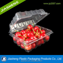 .Disposable Large Plastic Fruit and Vegetable Packaging supermarket fruit tray packaging for cherry with vent holes