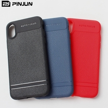 high quality leather texture mobile phone case accessories for iphone x , soft tpu case for iphone x