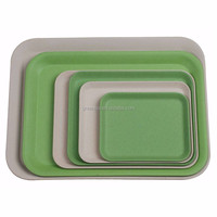 beautiful bamboo fiber snack tray,plate