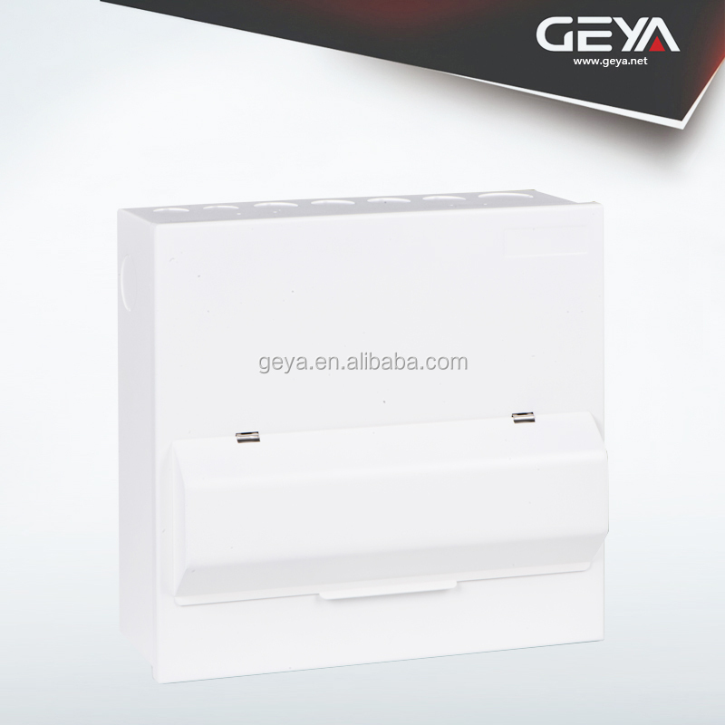 GEYA OEM 10Way Stainless Steel Box Metal Cabinet Parts Customized Distribution Box