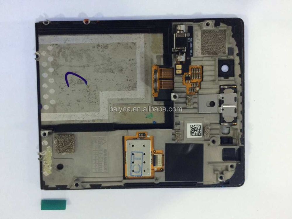 for Blackberry Porsche Design P9983 lcd and touch screen assembly