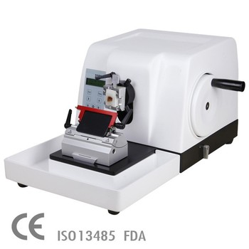 Super Quality CE marked Semi-automatic Rotary microtome for hospital use