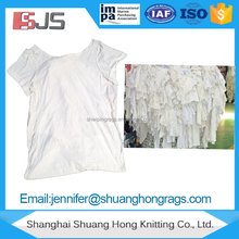 Hand cleaning all white cloth material cotton rags