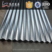 China 24 Gauge Galvanized Steel Roofing Sheet