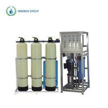 RO water treatment system for boiler plant