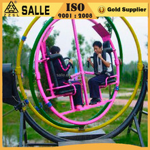 Family Amusement Rides Motion Simulator Funfair Games Rides Human Gyroscope Spaceball for Sale