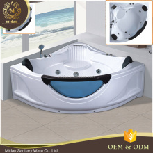 MD-KMS3015 with led light air jets whirlpool 54 inch length bathtub corner