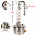stainless steel pot distillery home vodka plant distilling copper column still distiller alcohol distillation equipment for sale