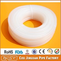 Food And Liquid Transfer Hose 5x7mm Food Grade Medical Use Colorless Silicone Rubber