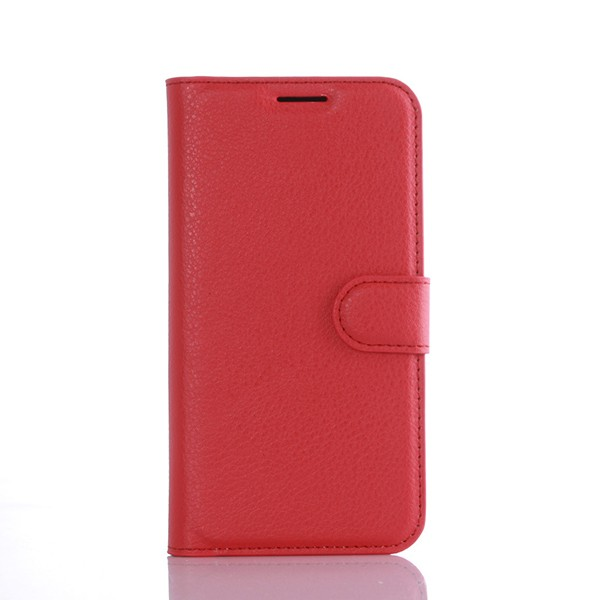 S7002 Lithi Pattern Cell Phone Magnet Flip Leather Cover for Samsung Galaxy S7