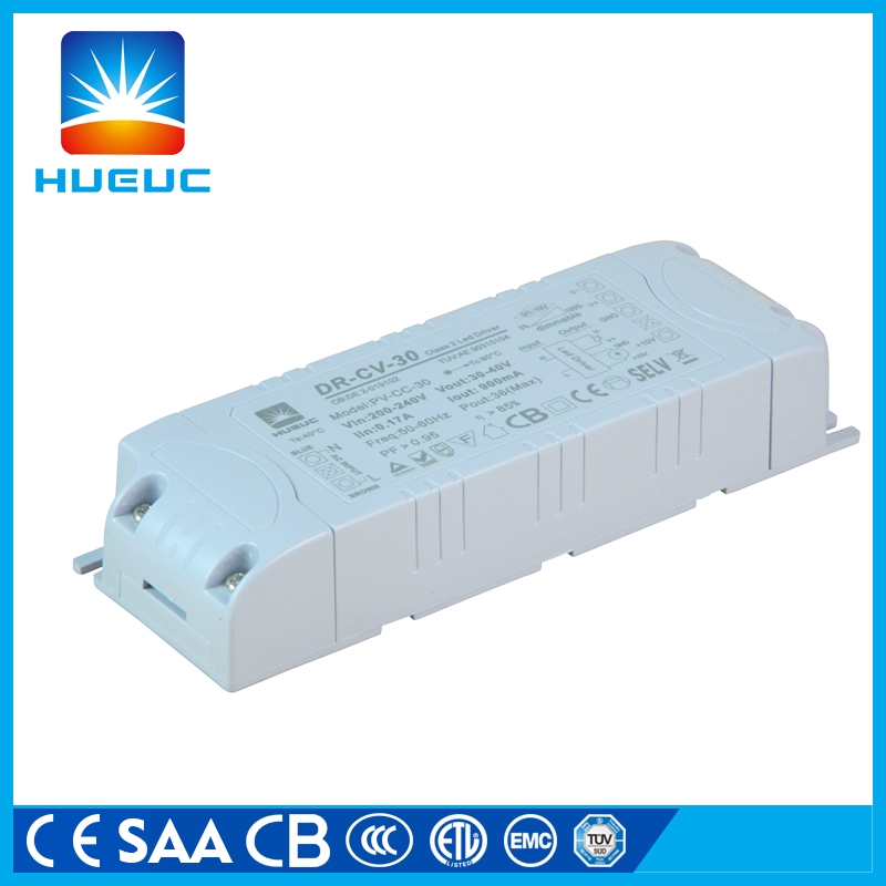 40w 0-10v dimming constant current led driver