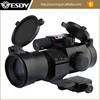 Tactical Laser Red/Green Dot Sight high mount red dot scope for riflescopes with red laser