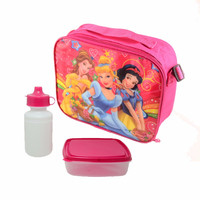Wholesale custom made beautiful cute mini thicken polyester insulated hot or cold food lunch box kids cooler bag