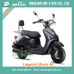 Hot Sale street eec 50cc scooter stand up scooters for sale Euro4 EEC COC Motor Scooter Legend 50cc, 125cc (Euro 4)
