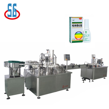 Operation Flexible Pharmaceutical Filling And Capping Machine