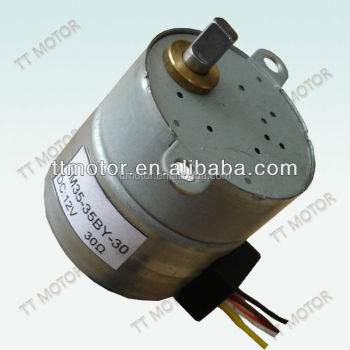 Gm35 35by low cost stepper motor 12v buy low cost for Low profile stepper motor