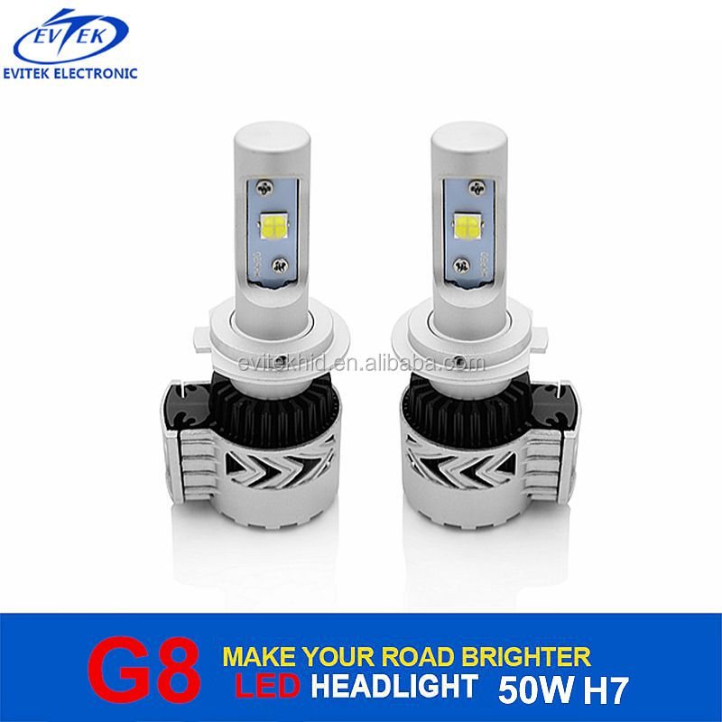 2017 Hot Sell Crees 36W 6000LM G8 Led Headlight H7 Led Car Headlight Kit