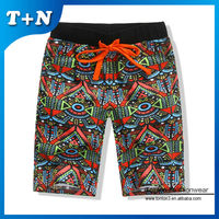 High Quality Mens Subliamtion Printed Shorts