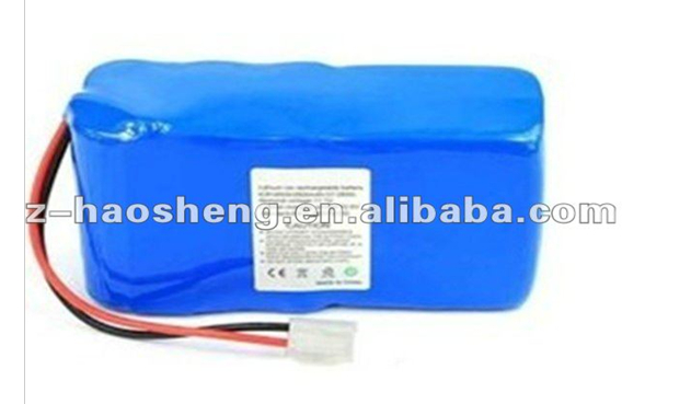 With Pcb Protected Rechargeable 18650 battery pack 14.8v 3000mah li-ion battery