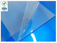 Clear Rigid PVC sheet for printing with PE Protective Film