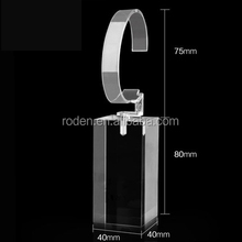 High-Grade Buckle Design Acrylic Watch Display Block