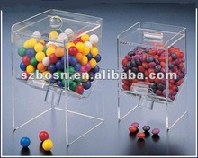 Acrylic Candy Box/ Acrylic Candy Bin/ Acrylic Sweet Display Case