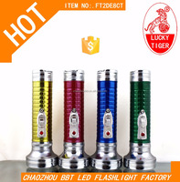 Dry Battery Hot Sale In South America LED Flashlight Torch