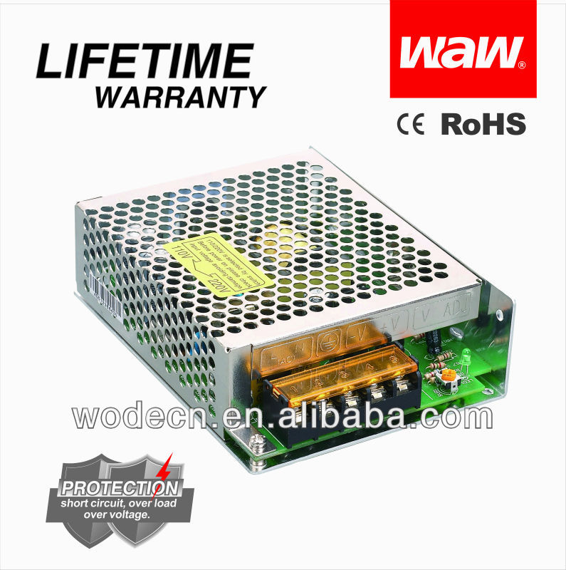 12V 3A 35W ac to dc power supply CE RoHS