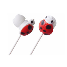 Cute animal shape mp3 music earphones for computer