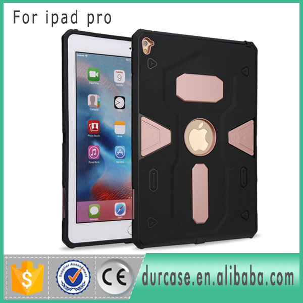 Alibaba Express High Impact Dual Layer Holster Combo Case for ipad Air Air2 Hybrid Cover Case