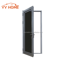 Australia standard as2047 security aluminium metal stainless steel hinge doors