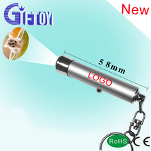 Promotional projector led light /led torch keychain with projector logos