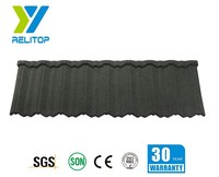 decorative colorful stone coated steel roofing tiles