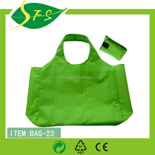 Reusable eco-freindly non woven folding polyester nylon shopping bag