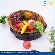 widely used display removeable supermarket bread rattan basket