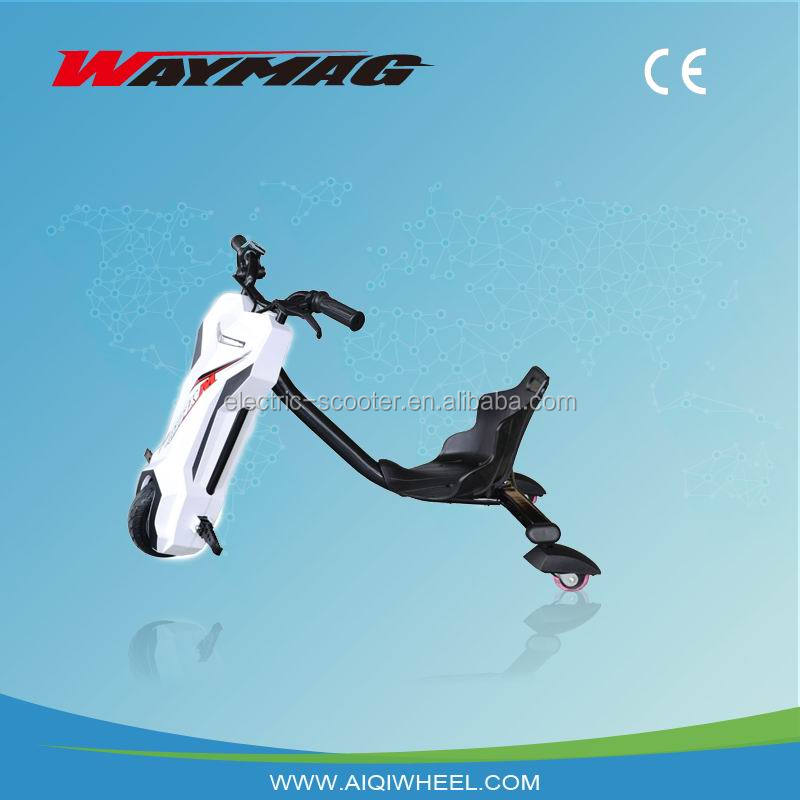 Waymag 2016smart drifting trike bike,self drifting scooter,smart drifting self balance.cool and safe