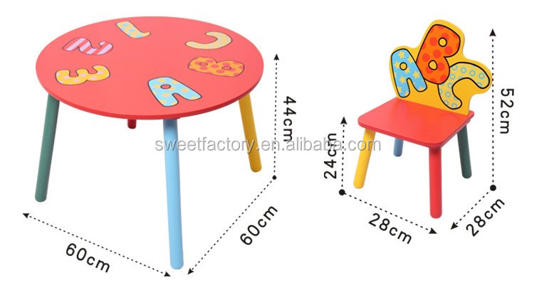 2017 New Design wooden children table for child, high quality wooden baby table for baby,hot sale wooden kids table for kids