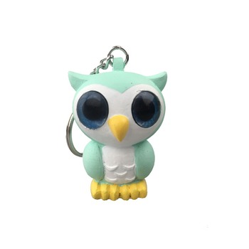 3D soft rubber pvc keychain, Promotional plastic keychain, custom design animal shaped soft pvc keychain