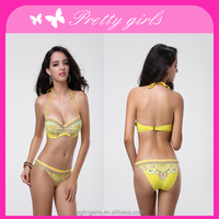 2014 New arrival Ladies bra and panty set