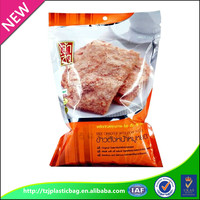accept custom China manufactory high quality ziplock aluminum foil food grade plastic bags