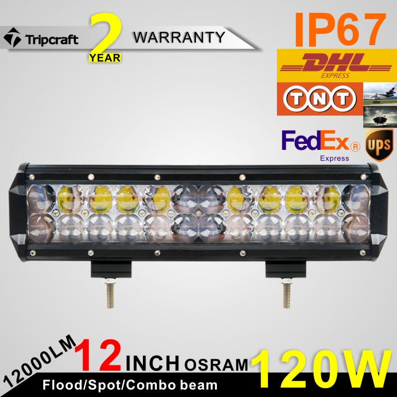 Competitive price Tripcraft 12 inch 4D led light bar car 4WD led headlight bulb
