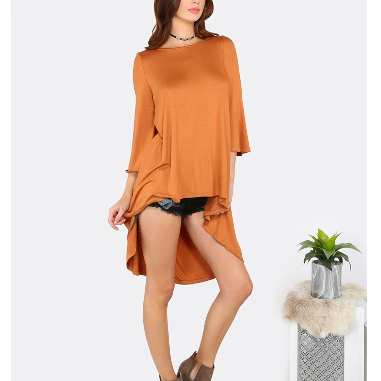 Latest Long Tops Designs Cut Out Indian Long Tunic Tops For Women