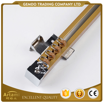 Different size high standard curtain rail runner with patented design