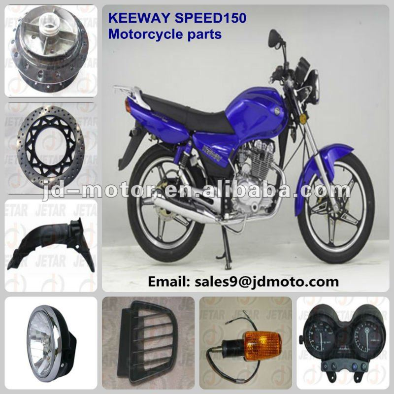 motorcycle parts for Keeway SPEED 150