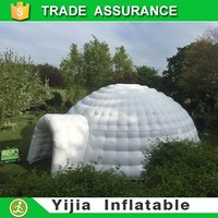Hot selling durable giant inflatable dome tent